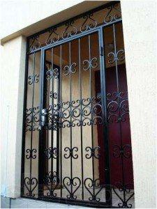 Решетчатые двери № 2