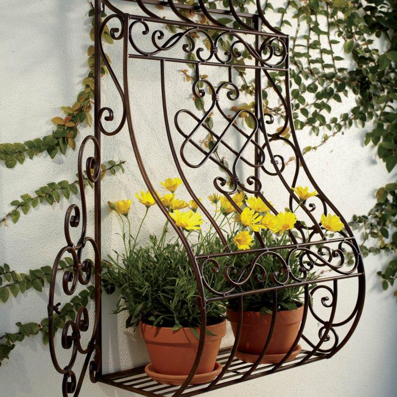 Луковичная решетка с подставкой под растения