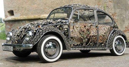 Роскошные кованые автомобили из мастерской Vrbanus