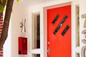 Красочные двери для интерьера