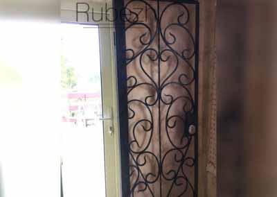 Двери решетчатые для террасы