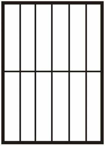 Решетка на окно №1