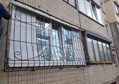 Решетка на балкон, луковица 26.03.19