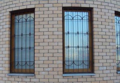 Решетки на высокие окна от 20.04.19