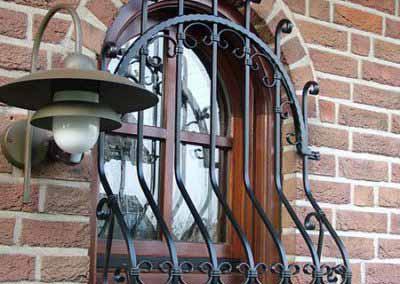 Кованая решетка на маленькое окно от 30.10.19 (артикул 301019)