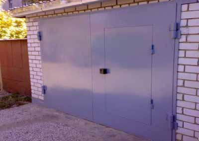 Металлические ворота для гаража от 12.10.19