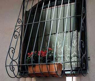 Луковичная решетка на окно от 07.11.19 (артикул 71119)