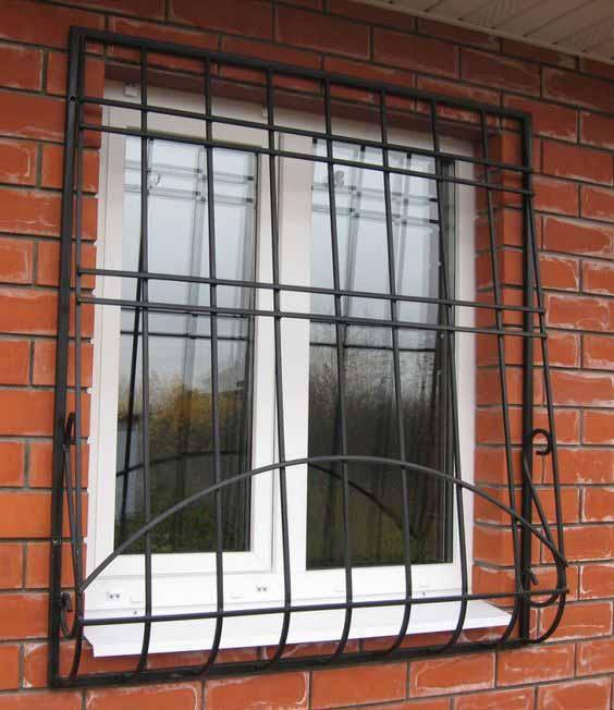 Луковичная решетка на окно от 10.11.19 (артикул 101119)