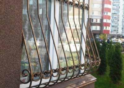 Луковичная решетка на половину окна от 08.11.19 (артикул 81119)