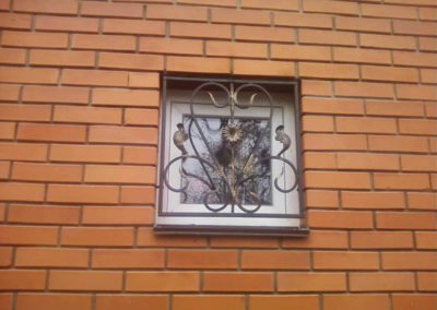 Маленькая решетка на квадратное окно от 22.12.19 (артикул 221219)