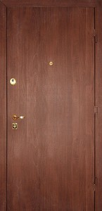 Дверь с ламинат покрытием № 13